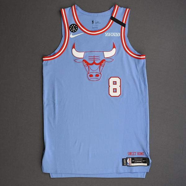 Image of Zach LaVine - Chicago Bulls - 2020 MTN DEW 3-Point Contest - Event-Worn City Edition Jersey