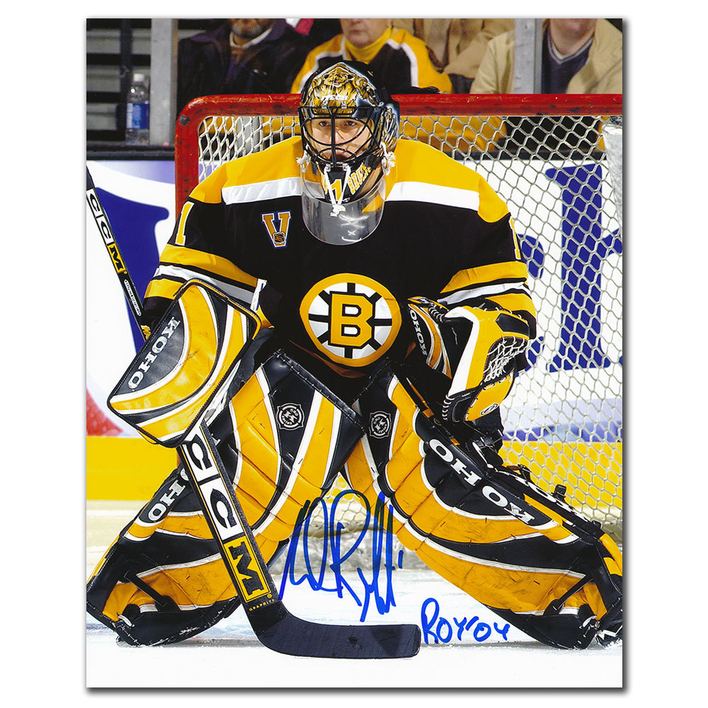 Andrew Raycroft Boston Bruins Autographed 8x10
