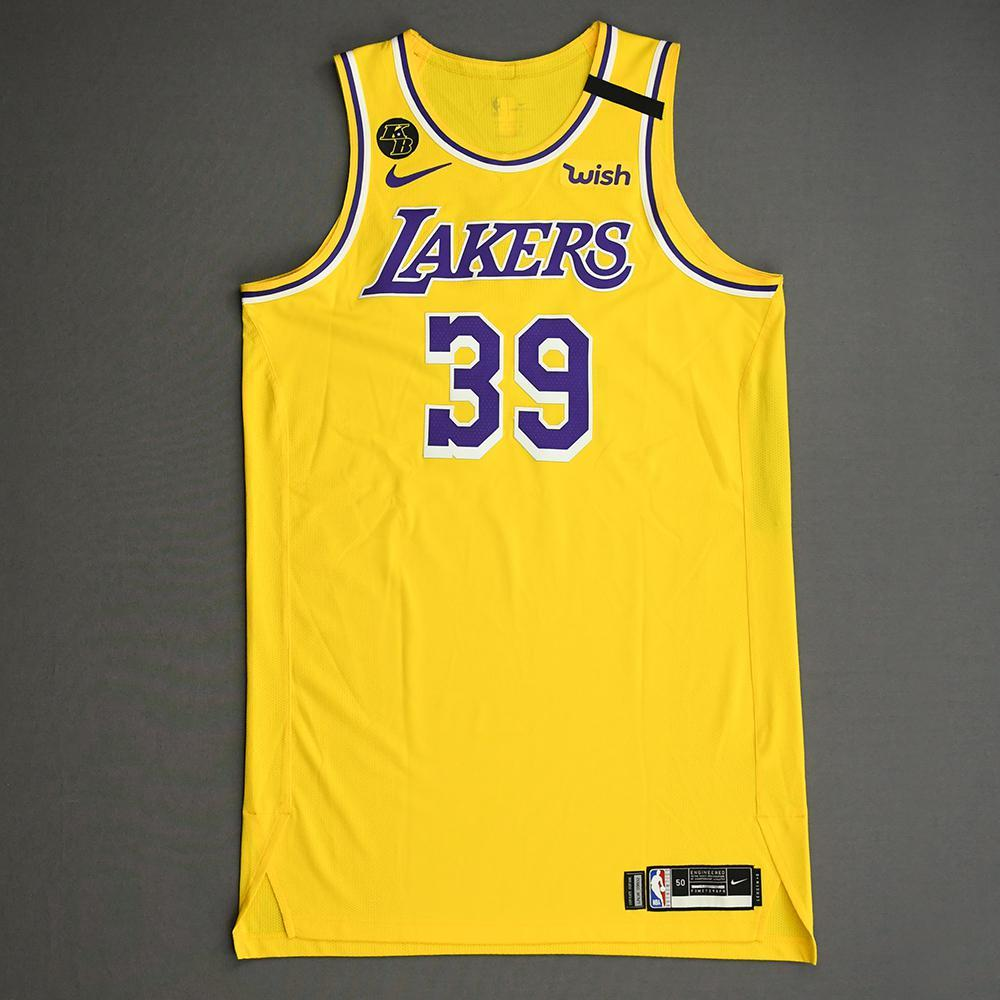 Dwight Howard - Los Angeles Lakers - Game-Worn Icon Edition Jersey ...