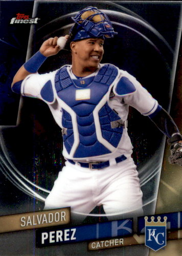 Photo of 2019 Finest #2 Salvador Perez