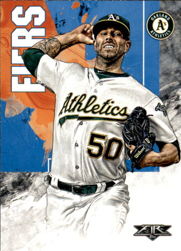Photo of 2019 Topps Fire #23 Mike Fiers