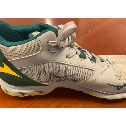 Photo of Oakland A's Community Fund: Chris Bassitt Autographed Cleat - NOT MLB Authenticated