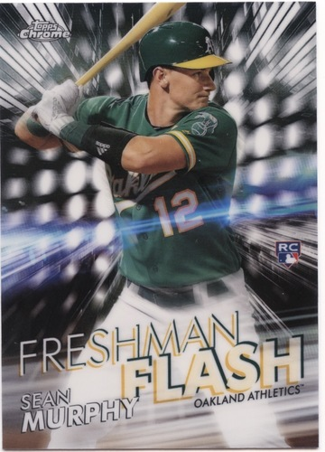 Photo of 2020 Topps Chrome Freshman Flash #FF11 Sean Murphy