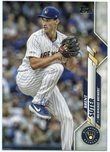 Photo of 2020 Topps #477 Brent Suter