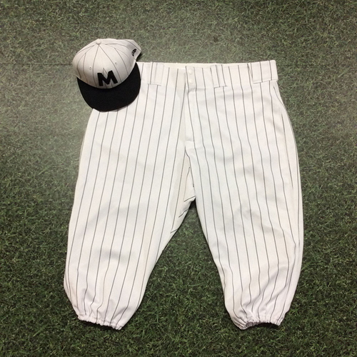 Photo of Matt Albers 2019 Authenticated Milwaukee Bears Uniform (Game-Used Cap & Team-Issued Pants)