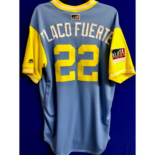 Photo of Team Issued 2018 Players Weekend Jersey: Chris ' Flaco Fuerte' Archer