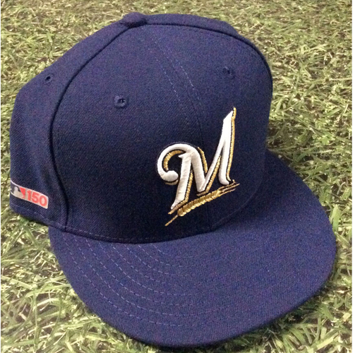 Photo of Travis Shaw 03/28/19 Game-Used Opening Day Cap