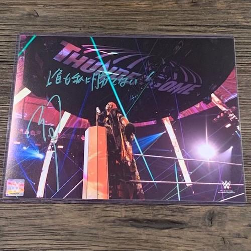 Photo of Asuka SIGNED 11x14 Photo Green Signature(w/ Inscription)