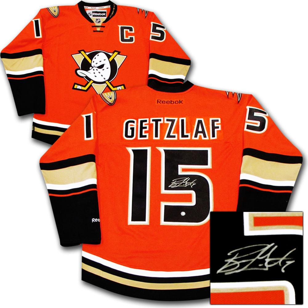 eea16ecdf Ryan Getzlaf Autographed Anaheim Ducks Jersey - NHL Auctions
