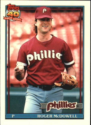 Photo of 1991 Topps Tiffany #43 Roger McDowell