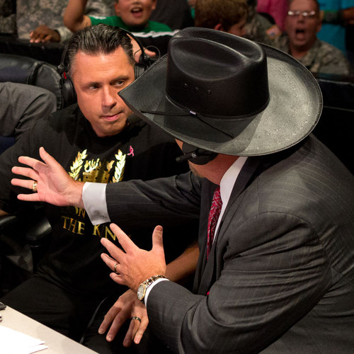 Jim Ross WORN & SIGNED Hat worn at RAW on September 17, 2012