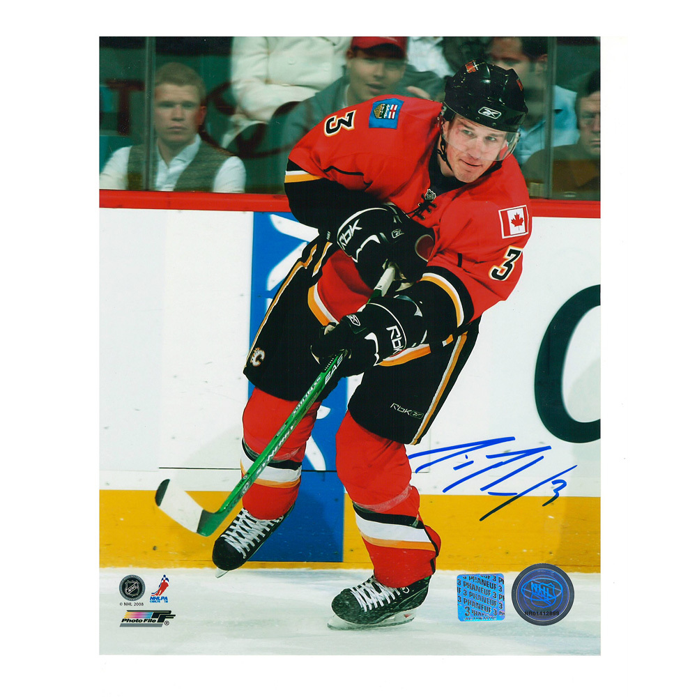 DION PHANEUF Calgary Flames 8 X 10 Photo - 70425