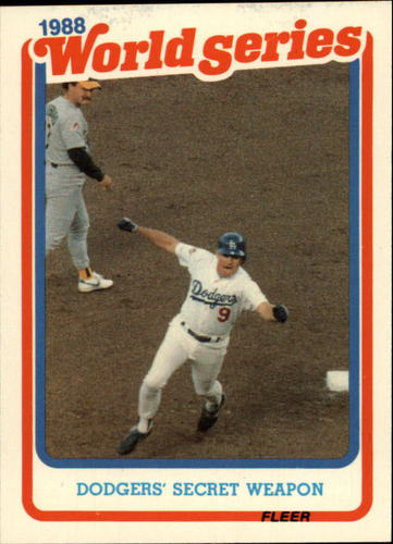 Photo of 1989 Fleer Glossy #WS1 Mickey Hatcher