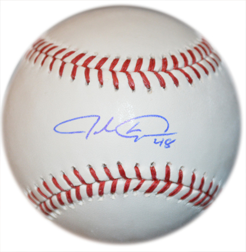 Photo of Jacob deGrom - Autographed Major League Baseball