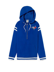 Toronto Blue Jays Women's 1/2 Zip Anorak Jacket by PINK by Victoria's Secret