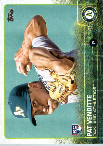 Photo of 2015 Topps Update #US81 Pat Venditte Rookie Card