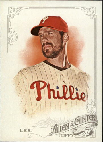 Photo of 2015 Topps Allen and Ginter #278 Cliff Lee