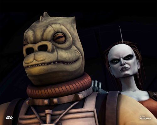 Bossk and Aurra Sing