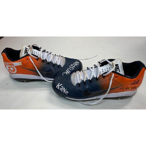 Photo of James McCann Detroit Tigers Game-Worn 2018 Players' Weekend Cleats