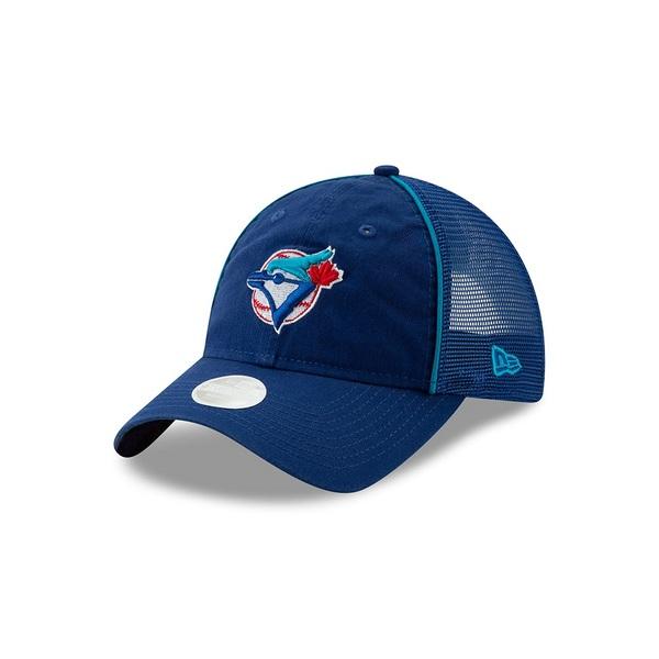 Toronto Blue Jays Women's Cooperstown Trucker Adjustable Cap by New Era