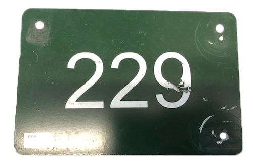 Photo of 12 Days of Auctions: Day 11 -- Wrigley Field Collection -- Aisle Marker 229