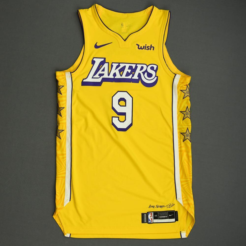Rajon Rondo - Los Angeles Lakers - Christmas Day' 19 - Game-Worn ...