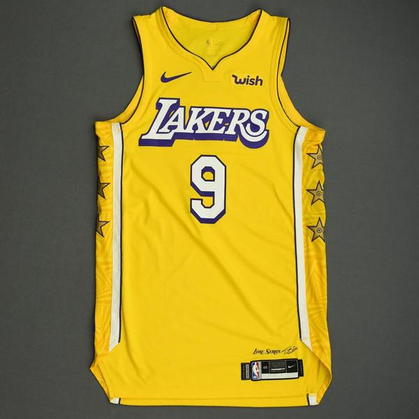 Image of Rajon Rondo - Los Angeles Lakers - Christmas Day' 19 - Game-Worn City Edition Jersey
