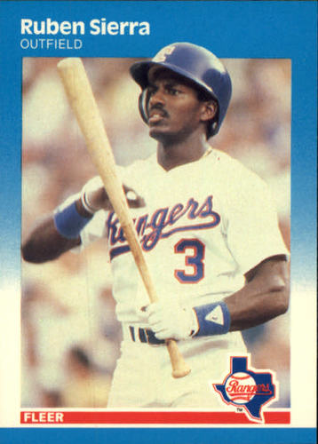 Photo of 1987 Fleer #138 Ruben Sierra RC