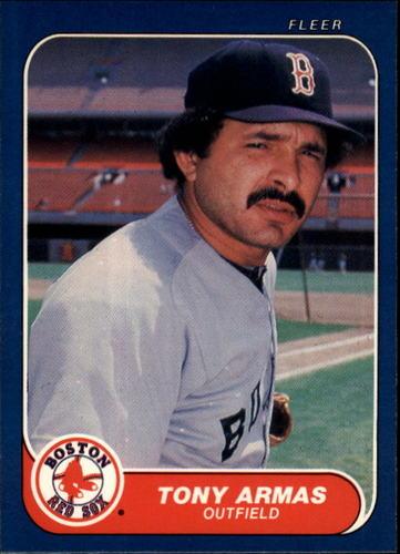 Photo of 1986 Fleer #339 Tony Armas