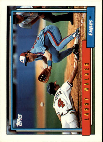 Photo of 1992 Topps #531 Larry Walker