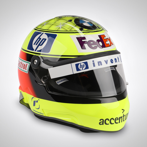 Photo of Ralf Schumacher 2004 Replica Helmet