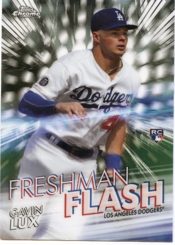 Photo of 2020 Topps Chrome Freshman Flash #FF12 Gavin Lux