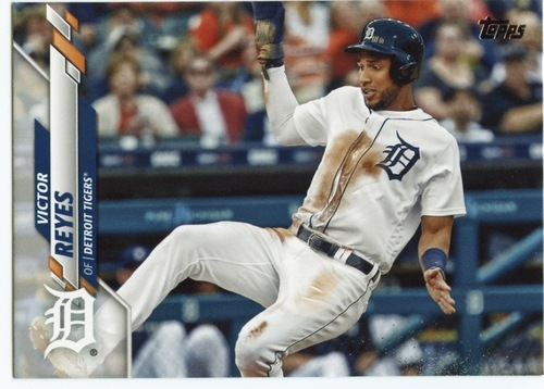 Photo of 2020 Topps #481 Victor Reyes