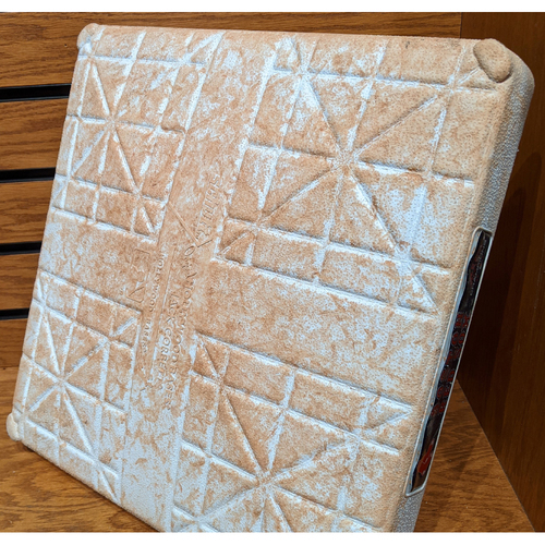 Photo of August 5, 2019 Red Sox vs. Royals Game Used 2nd Base