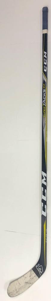 #91 Gaetan Haas Game Used Stick - Autographed - Edmonton Oilers