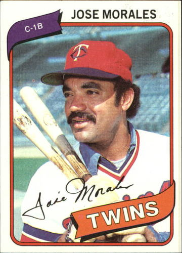 Photo of 1980 Topps #218 Jose Morales