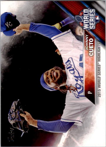 Photo of 2016 Topps #61 Johnny Cueto WSH