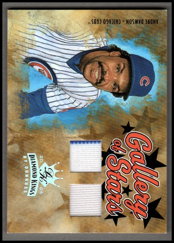 Photo of 2005 Diamond Kings Gallery of Stars Combos #1 Andre Dawson Jsy-Pants/100