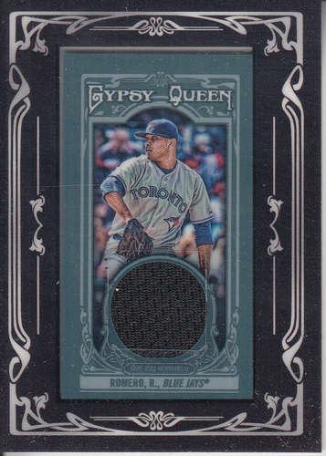 Photo of 2013 Topps Gypsy Queen Framed Mini Relics #RR Ricky Romero