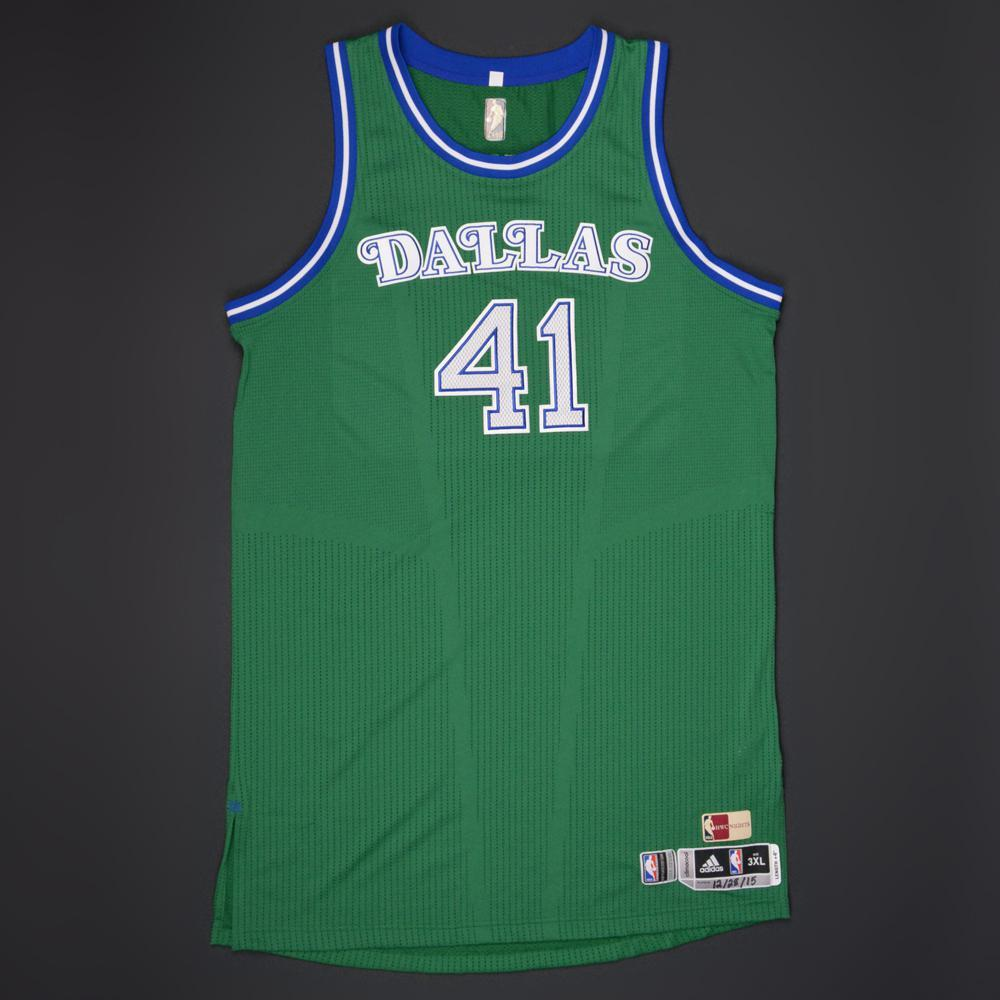 8ffc431953b Dirk Nowitzki - Dallas Mavericks - Game-Worn  1980-90 Road Hardwood Classics