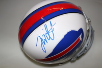NFL - BILLS JONATHAN WILLIAMS SIGNED BILLS PROLINE HELMET