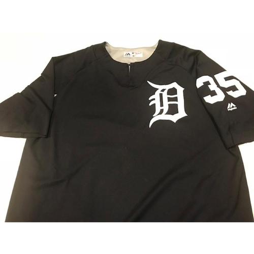 Team-Issued Justin Verlander Home Batting Practice Jersey