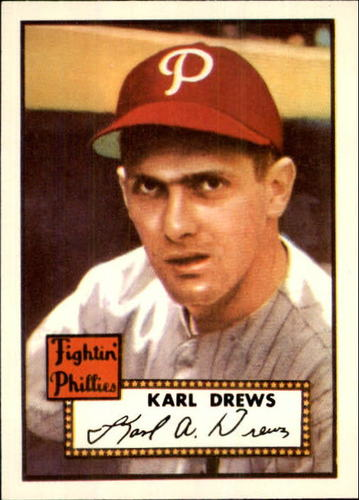 Photo of 1983 Topps 1952 Reprint #352 Karl Drews