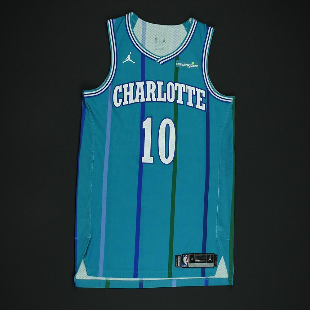 Michael Carter-Williams - Charlotte Hornets - Game-Worn Classic Edition 1988-97 Road Style Jersey -2017-18 Season