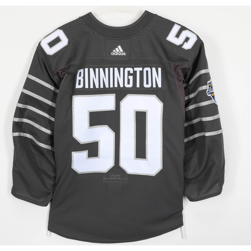 Jordan Binnington St. Louis Blues Player-Issued 2020 All-Star Game Jersey
