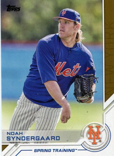 Photo of 2017 Topps Salute #S146 Noah Syndergaard