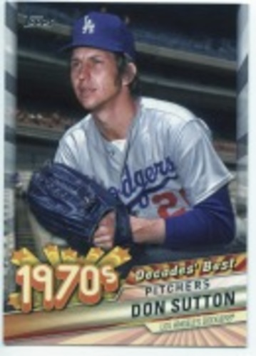 Photo of 2020 Topps Decades' Best #DB39 Don Sutton