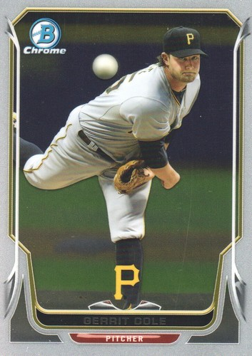 Photo of 2014 Bowman Chrome #88 Gerrit Cole