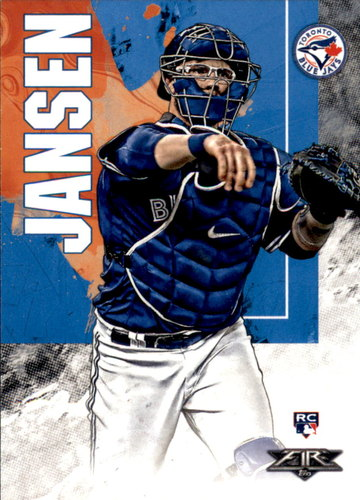 Photo of 2019 Topps Fire #25 Danny Jansen RC