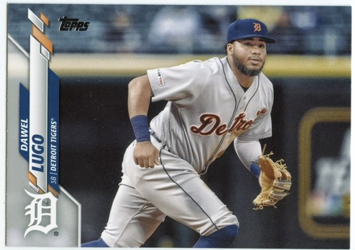 Photo of 2020 Topps #486 Dawel Lugo